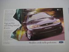 advertising Pubblicità 1997 FORD MONDEO