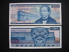 México 50 pesos 27.1.1981 serie LS (p73) UNC