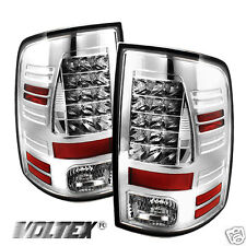 2009-2012 DODGE RAM 1500 2500 3500 LED TAIL LIGHT BAR LIGHTBAR LAMP RED CLEAR