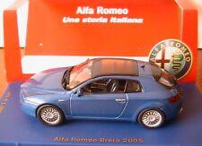 ALFA ROMEO BRERA 2005 BLEU METAL M4 1/43 BLUE METALLIC EDITION LIMITEE 1998 PCS