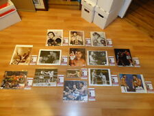 MUHAMMAD ALI AUTOGRAPHED 8 X 10 COLLECTION ALL JSA COA 14 SIGNED BOXING PHOTOS