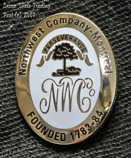 "Northwest Trading ""Badge of Allegiance"" Replica Pin-Fur Trade-Mountain Man-""NEW"""