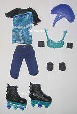 Monster High Wheel Love Gillington Gil Webber Boy Doll Outfit & Shoes Skates New