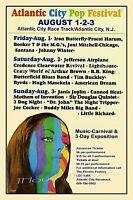 Atlantic City NJ POP FESTIVAL 1969 Poster Reproduction