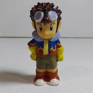 "2000 Digimon Adventures 2.5"" Davis Motomiya Figure Finger Puppet Bandai"