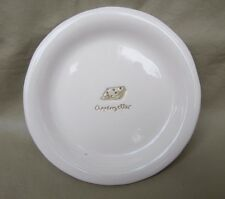 """Williams Sonoma Collectible Cocktail Wine Plate """"APPENZELLER"""""""" 6.25"""" White NICE!"""