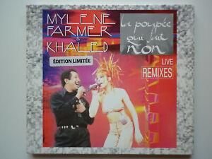 Mylene Farmer / Khaled cd Maxi digipack La Poupée Qui Fait Non