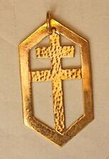 WWII - Médaille Croix de Lorraine - Visite du général De Gaulle à Grenoble 1944