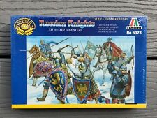 ITALERI 1/72 XII TO XIII CENTURY RUSSIAN KNIGHTS 40 KNIGHT FIGURES ITEM 6023 F/S