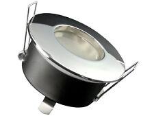 RW-1 LED-Einbaustrahler Bad Dusche IP65 6W COB warmweiß GU10 230V innen + außen