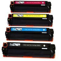 4PK CE320A CE321A CE322A CE323A Toner Cartridge Combo For HP128A CP1525 CM1415