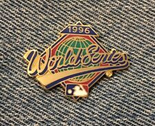 New listing 1996 World Series Pin~Mlb~New York Yankees vs Atlanta Braves by Peter David Inc.