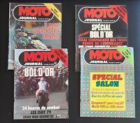 Lot 4 magasine ancien Moto Journal Septembre 1979- N° 424 N° 425 N° 426 & N° 427