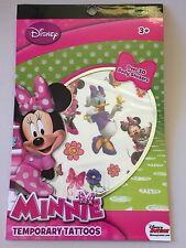 Minnie Mouse Temporary Tattoos 65 Body Stickers Disney Junior Party New