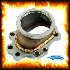"2.5"" inch V-band Turbo Charger Flange Adapter 8 Bolt Outlet T2 T25 T28 GT25 GT28"
