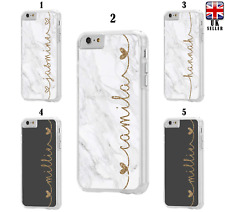 Personalised Custom NAME Marble Case for Apple iPod Touch 5th 6th 7th Generation