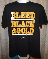 Nike MISSOURI TIGERS Cotton Bleed Black   Gold Tee   T-Shirt Men s Large c7dcb67f0