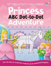 Dot to Dot Activity Book - Princesses,Sally Hopgood