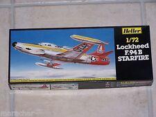 Maquette  HELLER 1/72ème LOCKHEED F.94 B STARFIRE