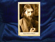Sinister Grigori Rasputin Vintage Cabinet Card Photo Russian Mystic Mad History