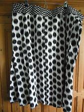Evans Calf Length Cotton Plus Size Skirts for Women