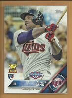 MIGUEL SANO RC 2016 Topps Opening Day Rookie Card # OD-52 Minnesota Twins