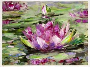 Fuchsia Lily by Elena Bond (Fine Art Flower on Canvas)