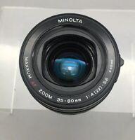 Minolta 35-80mm F/4-5.6 AF Zoom Lens - Sony A/ Minolta Maxxum - Fast Ship - A08