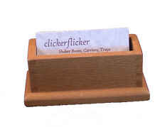 Business Card Holder in Oak by David Crandall