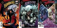 MARVEL Black Cat #1 2 3 Comic Set King in Black KIB Tie In Venom Spiderman NM