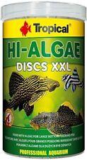 Tropical Hi-Algae Pleco's Discs XXL 1000 ML Algae Food Catfish Chips Novelty