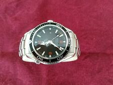 Omega Planet Ocean, XL 46mm, Auto Co-Ax 2500, Black Dial, 2000 Feet, Great Cond