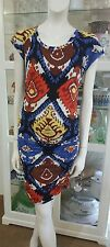 Country Road wiggle dress.SzXS.Vibrant and flattering.Cotton modal blend.VGC