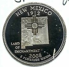 2008-S San Francisco Silver Proof New Mexico State 25C Quarter!