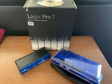 Apple/Emagic Logic Pro 7 Bundle - MT4, EMI 26, USB Audio/MIDI w/ white dongle