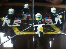 LEGO Mini Figure Police Man Biker on Motor Bike Original Collectable Lego Man