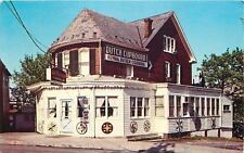 Gettysburg Pennsylvania~Dutch Cupboard~Restaurant~Clear Sky~Red Brick~1972 PC