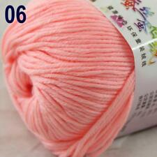 Sale New 1Ball x 50g Cashmere Silk Wool Hand Knit Wrap Shawls Crochet Yarn 06