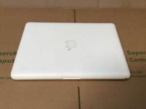 "[C] Apple Macbook A1342 13.3""Intel C2D 2GBRAM 120GBSSD OS10.5 Adapter Free case"