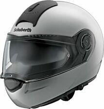 Schuberth C3 Basic Argento Motocicletta Casco - Grande