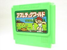 Famicom ATHLETIC WORLD Cartridge Only Nintendo Family Trainer JAPAN Game fc