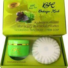 2x Botaya Herb set Acne Blemishs Whitening Aura Treatments Cream&Soap