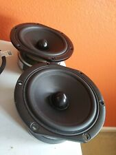 New listing Seas Excel 4.5in W12Cy/C-Tb1 H1609-08ohm Midbass Woofer (Pair)