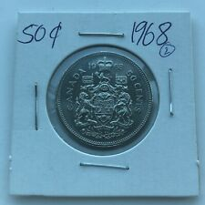 1968 CANADA 50 CENTS***L@@K***HIGH GRADE***Combined Shipping***L@@K***
