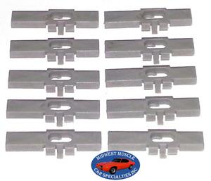 NOSR Cadillac Buick Vinyl Landau Soft Top Trim Molding Moulding Clips 10pcs OY