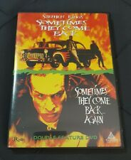 STEPHEN KING DVD ~ 2 in 1 ~ SOMETIMES THEY COME BACK plus AGAIN ~ EXCELLENT