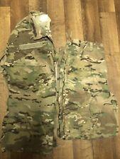 US Army Combat MULTICAM SET OCP MEDIUM LONG UNISEX PANTS JACKET COMPLETE NICE