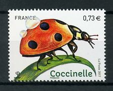 France 2017 MNH Insects Ladybirds 1v Set Ladybird Beetles Stamps
