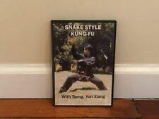 Snake Style Kung Fu Dvd chinese shaolin boxing internal self defense