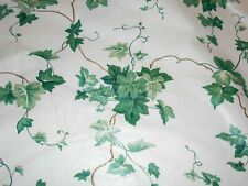 "NEW Waverly English Ivy 100% Cotton Material  55"" Wide 6 Yards (One Piece) USA"
